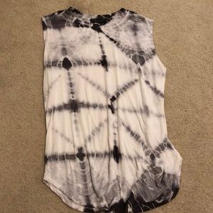 Super cute and comfy tie dye tank
